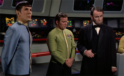All the President's men... and Vulcans.