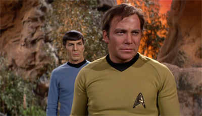 """""""Well, at least Gene Roddenberry's next script has to be better. Right?"""""""