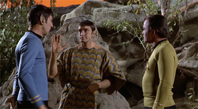"""Spock, I couldn't help noticing that you didn't wish that I live long and prosper?"" ""Well, the odds seem to be against it."""