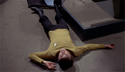 Turn on, tune in. Chekov's out.
