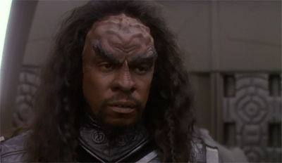 """""""Don't worry. Next year I'll assassinate a prominent Romulan official WITHOUT wearing makeup."""""""