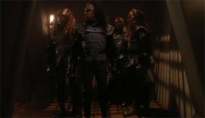 Ain't no party like a Klingon boarding party...