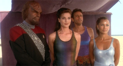 Deep Space Nine's summer vacation.