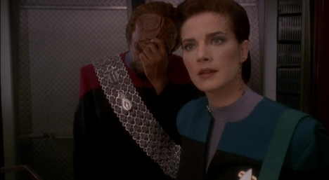 """It's okay, Worf. The writers promised that was only the first draft they sent through."""