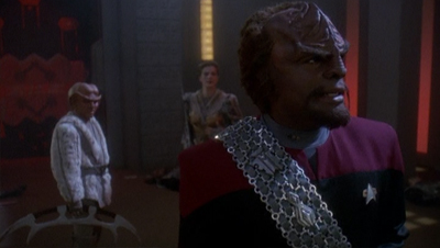 Romancing the (Klingon with the Heart of) Stone...
