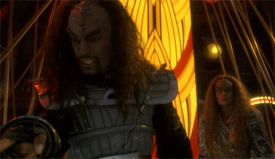 Either you get gone, or you Klingon.