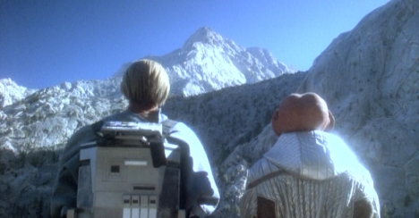 """""""And to round out the thirtieth anniversary, we're going to climb the Paramount logo."""""""