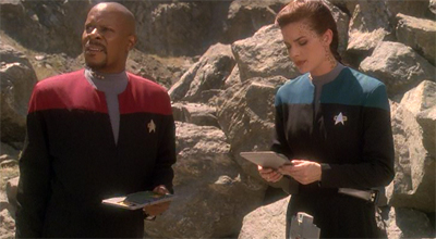 """Salvage rights""? And here we though mirror!Sisko was the space pirate."