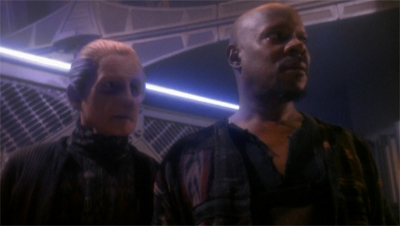 """Trust me, Constable. If I didn't drum Worf off staff for what happened on Risa, you probably have nothing to worry about."""