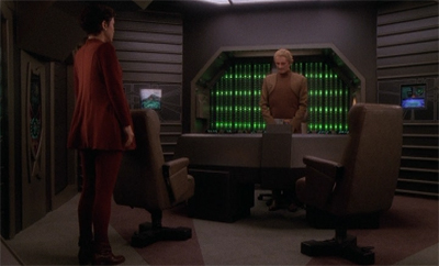 """Also, you made me feel hella guilty at the end of Necessary Evil, Odo. So I'm going to enjoy this."""