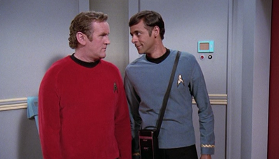 There is always time for Bashir and O'Brien.