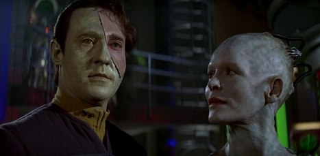 """Captain, when the Borg promised you a pound of flesh, it turns out that they meant it literally."""