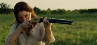 Emma's got a gun.