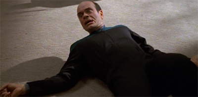 Robert Picardo was just floored by the suggestion that he would be able to leave Sickbay.