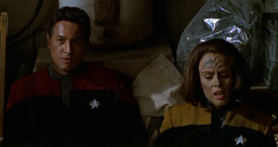 """How come Tom and Tuvok got have Star Trek IV, and we got stuck in Star Trek V?"""
