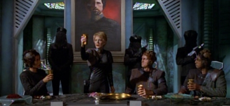 """A toast, to that most reliable of plot devices..."""