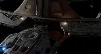 Sisko's pay will be docked.