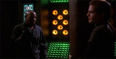 Sisko won't be boxed in.