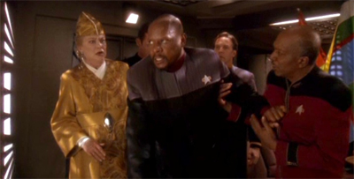 """I won't let anything hold me back while I hold Bajor back!"""