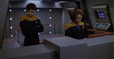 A Klingon/Vulcan coupling would raise some eyebrows.