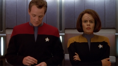 """Look, at least this will make a better 'how we got together' story than Odo and Kira."""