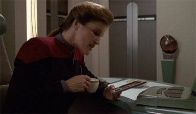 Janeway or the highway.