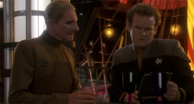 """Why do I always have to play the bad guy?"" Colm Meaney is even typecast within Star Trek. He wishes he were Colm Nicey."