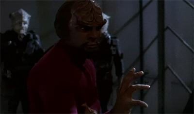 """I know Worf Fu."""