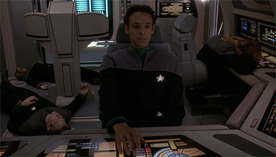 Don't worry. First season Bashir was quite used to putting his crewmates to sleep.