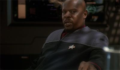 Benjamin Sisko, godslayer.