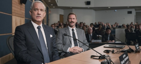 """Mr. Sullenberger goes to the NTSB Debriefing."""