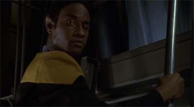 """You don't even know what you're looking for."" ""I'm looking for Mister Neelix's instinct. Perhaps it will be marked."" Oh, sick burn, Tuvok."