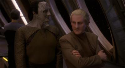 Thinking (about Dukat's) back.