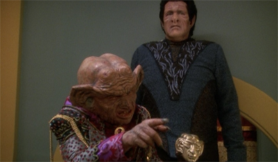 Nagging the Nagus.