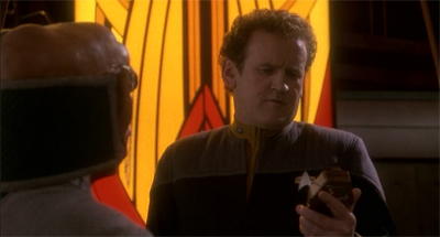Chief O'Brien. They call him the love mechanic.