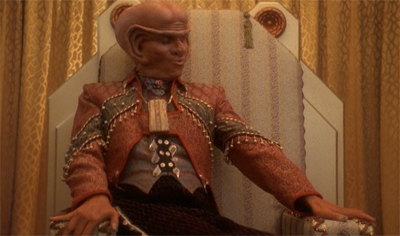 The latinum throne.