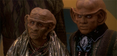Ties of blood and latinum.
