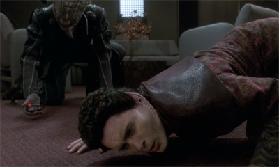 Weyoun keeps his ear to the ground.