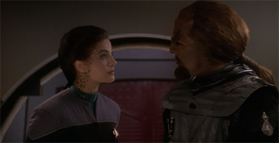 He never thought be'd so gladzia to see Jadzia.
