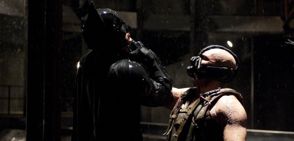 SUPERMAN MOVIE DVDVILLA - The Dark Knight Rises (and Falls