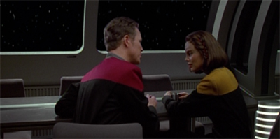 On Voyager, this is what counts as foreshadowing.