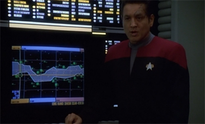 """This grey area? This is where Janeway operates."""