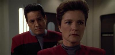 Janeway outta line.