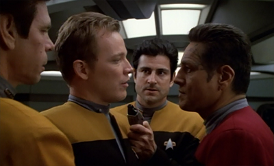 Actually, more like Chakotay or the highway...