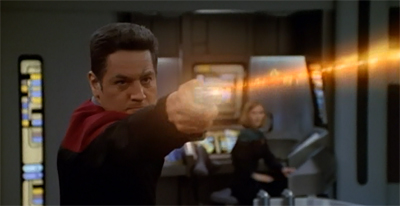 Well, to be fair, holo!Chakotay is a lot more exciting.