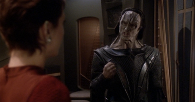 Dukat feels very strongly about the canonicity of The Animated Series.