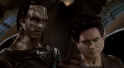 """""""Yes, but are any Cylons as charming as we two interstellar despots?"""""""