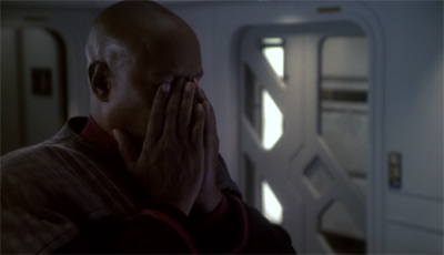 """""""At least Eddington never threatened to sell out the entire Alpha Quadrant."""""""