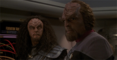 On the Worf path.