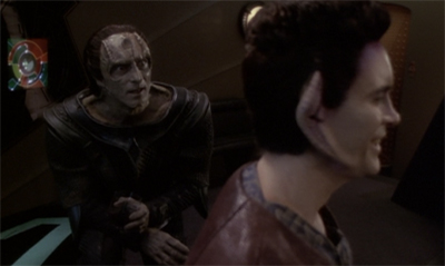 """Go on. Let's play another round of 'who can be the most spectacularly evil?' I'll even give you a headstart, Weyoun."""